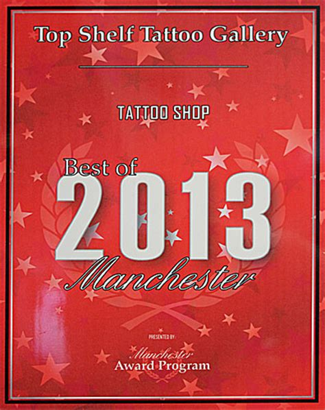 top shelf tattoo manchester nh and piercing shop custom tattooing