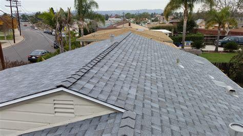 asphalt roof shingle installation  clairemont