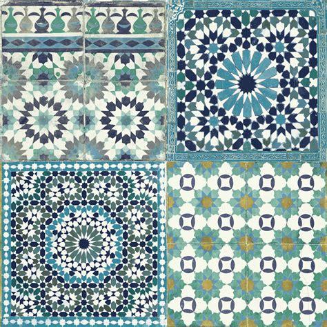 Mosaik Tapete grandeco sapphira blue mosaic tile wallpaper blue mosaic