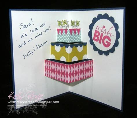 Rugged Pop Up Cers by Pop Up Card Tutorial By Kellysrose Cards And Paper