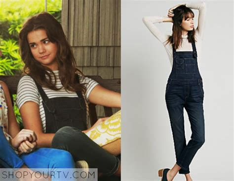 Shiny Fashion Tv Episode One Of The Style Council by The Fosters Season 3 Episode 2 Callie S Black Overalls