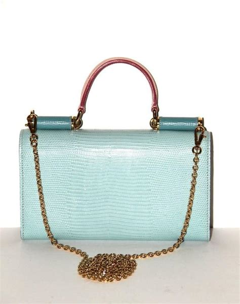 Pink Linings Blue Apple Laptop Bag On Sale Just For Us Stingy Folk Huzzah by Dolce And Gabbana Limited Edition Mini Wallet Bag For Sale