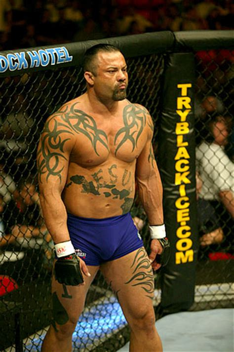 tribal tattoo ufc kimo a old school tough guy he put up a helluva fight