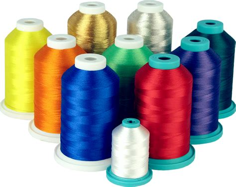 swing thread choosing the right machine embroidery thread part 1