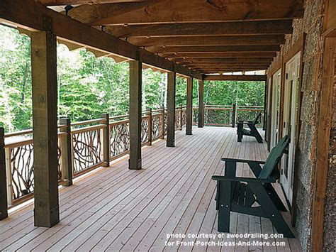 Mobile Home Ideas Decorating mountain laurel porch railings porch railing designs