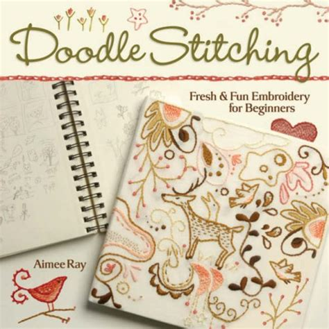 how to do doodle stitching how to embroider for beginners learn embroidery stitches