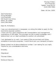 Sle Cover Letter For Entry Level by Entry Level Mechanical Engineering Cover Letter Exles
