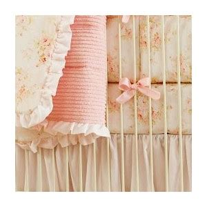 shabby chic toddler bedding shabby chic chenille crib bedding pink floral baby