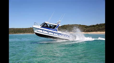 boat r noosa noosa cat 3000 patrol vessel youtube