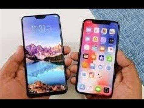 honor 8x max vs apple iphone xr