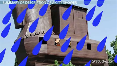 description of a city shower summary analysis