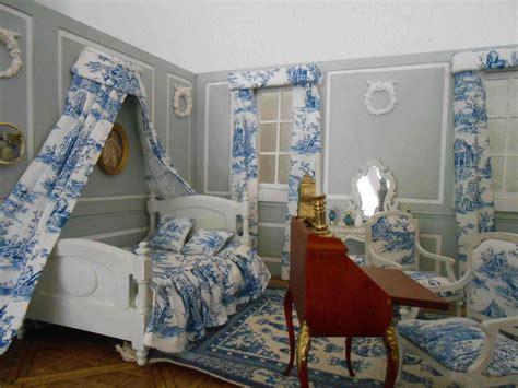 toile chambre adulte miniature chambre toile de jouy