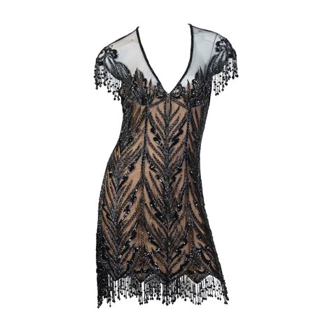 beaded dress bob mackie beaded dress for sale at 1stdibs
