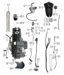dirt bike engine schematics dirt free wiring diagrams