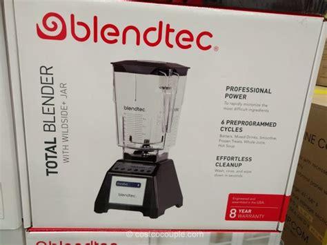 vitamix blender costco blendtec total blender