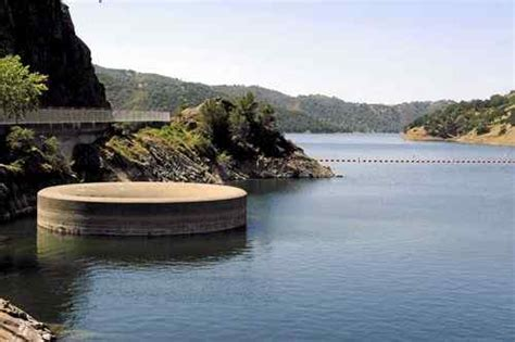lake berryessa spillway berryessa lake levels released