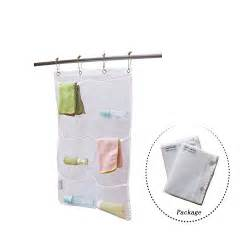 Hanging Shower Organizer by 2 Pack Hanging Mesh Bath Shower Caddy Organizer With 6