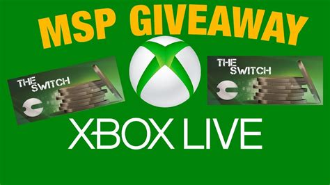 Microsoft Points Giveaway - free xbox live microsoft points giveaway 600 microsoft point card giveaway youtube