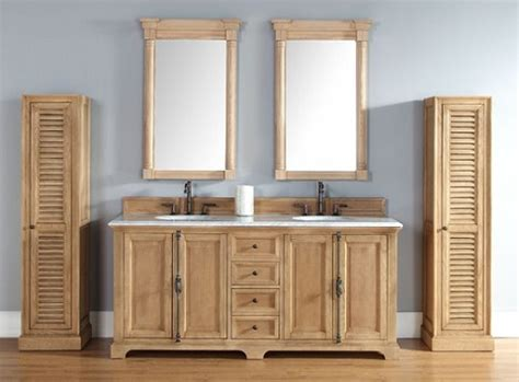 unfinished oak bathroom vanity unfinished solid wood bathroom vanities from james martin