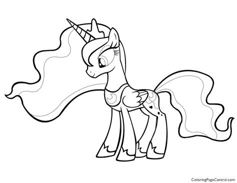 baby luna coloring page my little pony coloring pages princess celestia baby