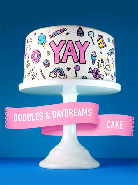 cake doodle play free doodles and daydreams cake bakerella