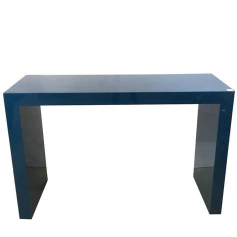 Blue Console Table A Blue Lacquered Console Table Circa 1970 For Sale At 1stdibs