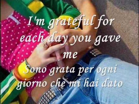 testo you and me because you loved me testo traduzione