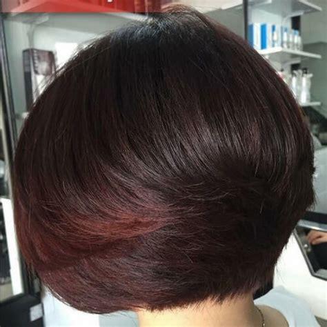 hairstyle wedge at back bangs at side 50 wedge haircut ideas for women hair motive hair motive