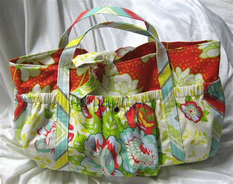 free pattern diaper bag puffy pockets tote diaper bag pattern sewing projects