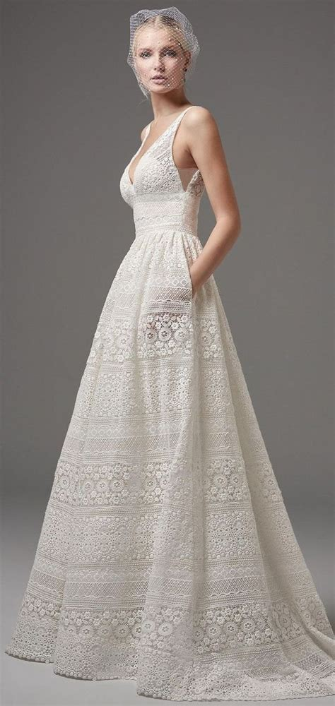 Wedding Dresses Pockets Now Neat by 30 Effortlessly Chic Wedding Dresses With Pockets