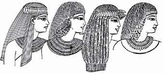 information on egyptain hairstlyes for men and women ancient egypt srishtiarora