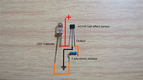 effect sensor wiring diagram and test