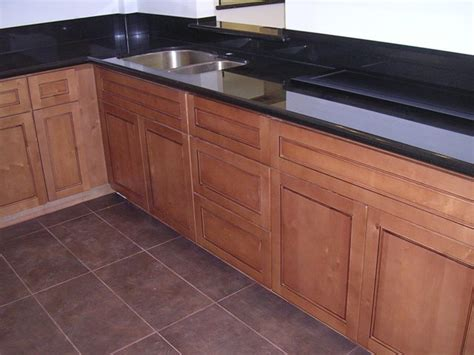 flat panel cabinets cafe colored maple flat panel kitchen cabinets