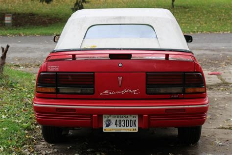 auto air conditioning repair 1994 pontiac sunbird security system 1994 pontiac sunbird le convertible 2 door 3 1l v6 classic pontiac sunbird 1994 for sale