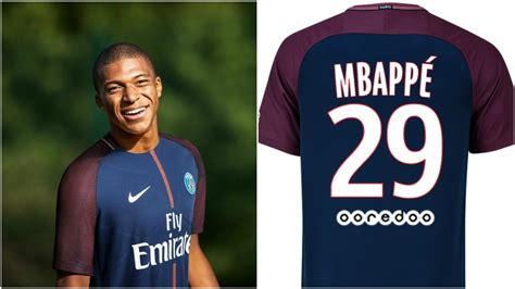 liga francesa mbapp 233 llevar 225 el dorsal 29 en el psg