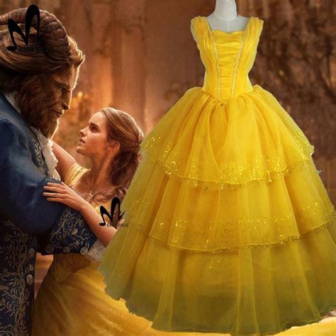 Od Dress Kid Princess Yellow 2017 and the beast princess
