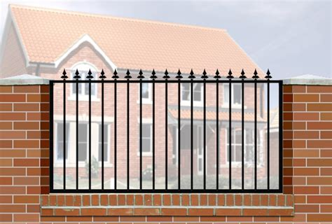 Wall And Railings Railings Wrought Iron Style For Wall Mounting Gates