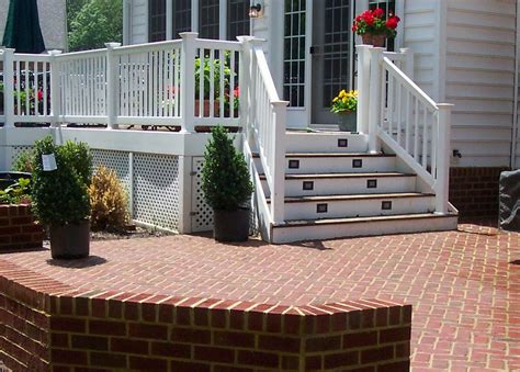 Deck To Patio Designs by Pictures For A To Z Patio Deck Design Llc In Leesburg