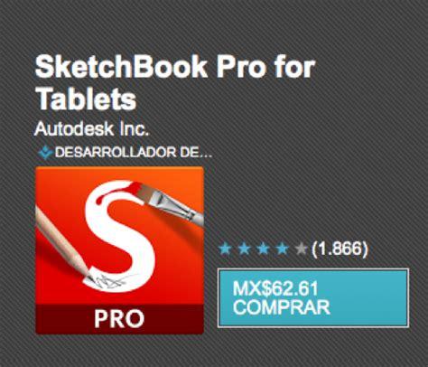 sketchbook pro para que sirve las 4 apps de dise 241 o que no deben faltar en tus