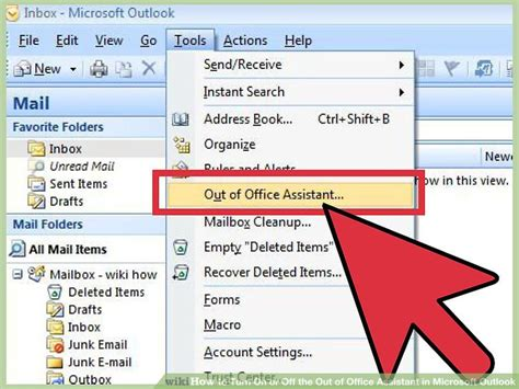 How To Turn Out Of Office In Outlook by 4 Ways To Turn On Or The Out Of Office Assistant In
