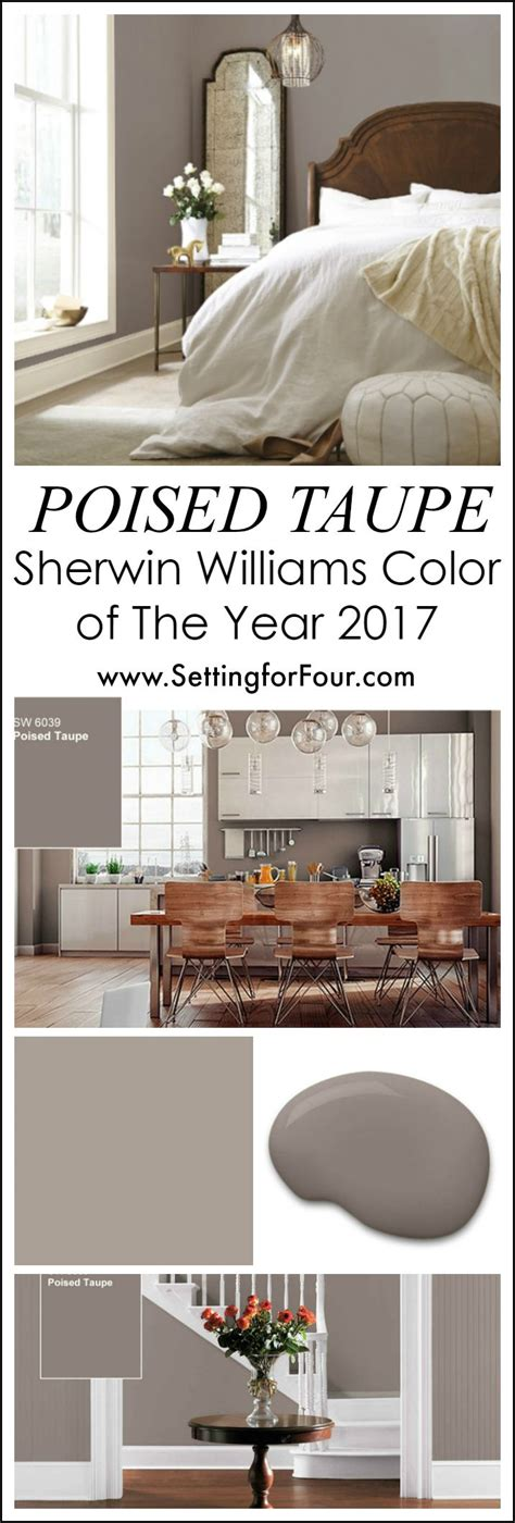 sherwin williams paint color of the year 25 best ideas about taupe paint colors on pinterest