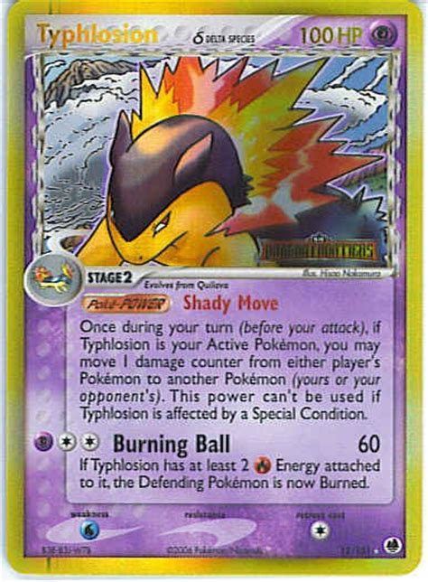 Sell Delta Gift Card - typhlosion delta species reverse holo pokemon card 12 101