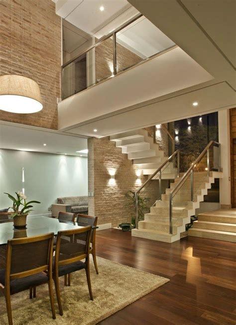 interiores de casas de co escadas em balan 231 o veja dicas e modelos modernos mais