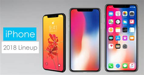 iphone lineup apple s 2018 lineup of iphones gadgetbyte nepal