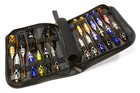 Tools Set By Rc metric size 23pcs competition tool set w carrying bag for