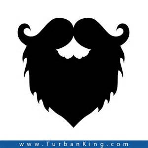 Mustache Wall Stickers sikhism accessories decal sticker beard mustache decal sticker