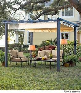 Pergola Canopy Fabric by Pergola With Fabric Canopy For My Backyard Juxtapost