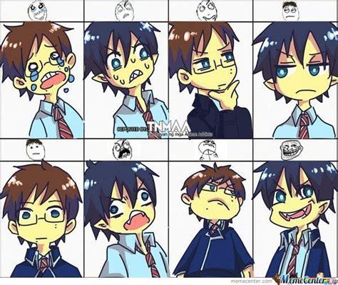 Cute Face Meme - anime troll face cute by mew san meme center
