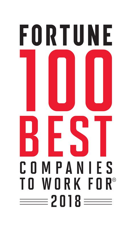 best company to work with fortune 100 best companies to work for 174 2018
