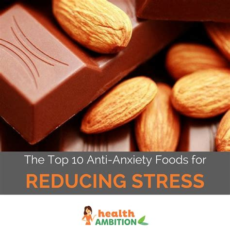 top  anti anxiety foods  reducing stress